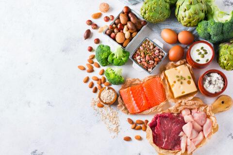 microbiote nutrition fibres protéines, acides gras à chaîne courte